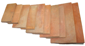 poloepo terracotta tiles rectangular 25x50x2.0