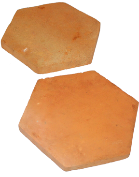 poloepo terracotta tiles hexagonal